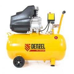 Компрессор пневматический DENZEL 1,5 кВт, 50 л