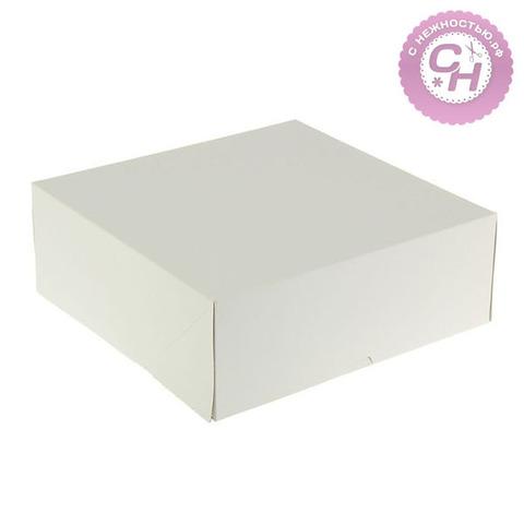 Коробка картонная квадратная, 28,5 х 28,5 х 6 см, 1 шт.
