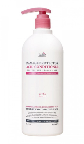 Lador Кондиционер с маслом арганы и коллагеном  Damage Protector Acid Conditioner 900ml