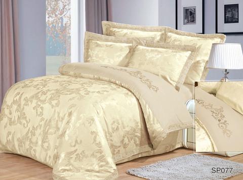 1.5-Спальное постельное белье Dumeyto сатин-жаккард