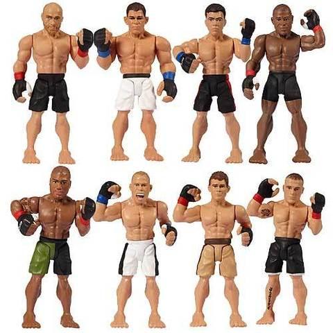 UFC Micro Figure Two-Packs Series 02