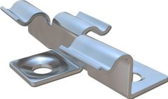 Металлический кляймер HILST FIX prof 3D для террасной доски