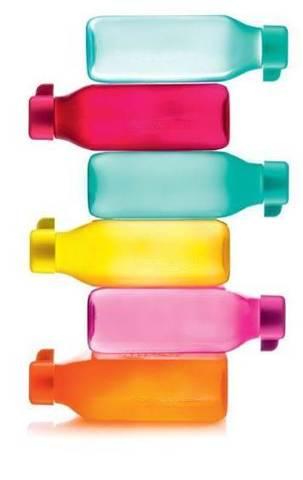 Квадратные эко бутылки тапервере