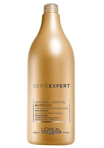 Питательный шампунь для сухих волос, Loreal Professionnel Nutrifier,1500 мл.