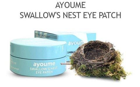 Патчи для глаз с экстрактом ласточкиного гнезда Ayoume Swallow's Nest Eye Patch