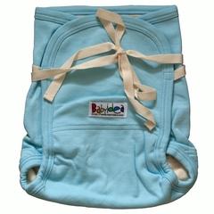 Трикотажный подгузник Babyidea Hemp Hour Strap Soft, до 3-х лет, Голубой (конопля/органический хлопок ) 2шт/уп