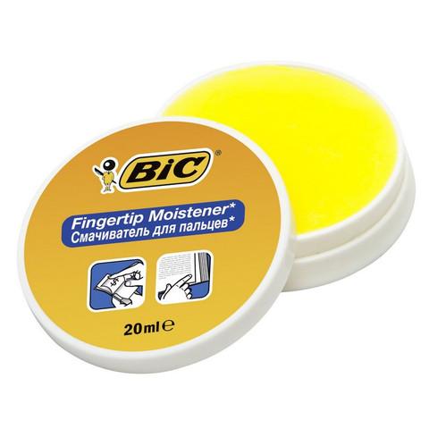 Подушка для смачивания пальцев гелевая BIC 897178 20мл