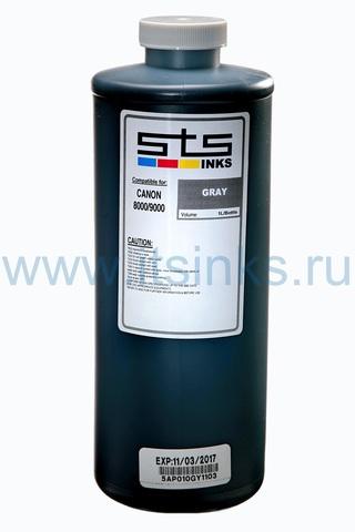 Пигментные чернила STS для Canon Gray 1000 мл