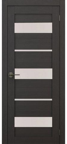 Дверь APOLLO DOORS F10, стекло матовое, цвет дуб серый, остекленная