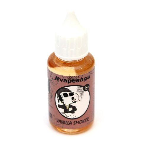 Жидкость Vapesaga Vanilla Smoker