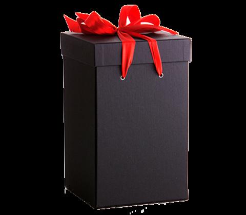 Подарочная упаковка для розы в колбе