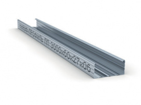 Потолочный профиль Кнауф 60х27х4000 мм 0,6 мм
