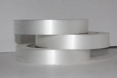 Лента простая (2см*50м) Гладкая без тиснения Белая