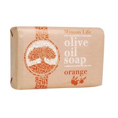 Оливковое мыло Апельсиновое MINOAN LIFE 100 гр