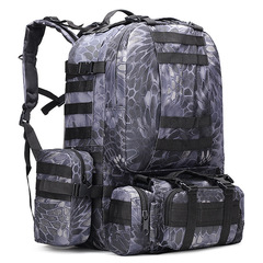 Тактический рюкзак 4 в 1 Cool Walker 001 Kryptek Black
