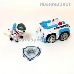 Робопес с машиной