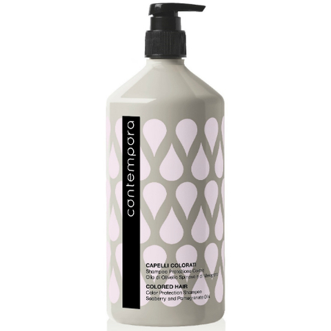 Шампунь для сохранения цвета с маслом облепихи и маслом граната Barex