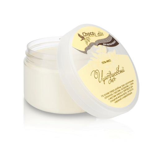 Гель-крем для мытья волос Мусс Цитрусовый с соком и эфирным маслом лимона, 280 мл TMChocoLatte