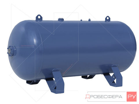Ресивер для компрессора РГ 500/10 горизонтальный