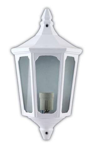 Светильник садово-парковый, 60W 220V E27 белый , IP44 , 4206 (Feron)