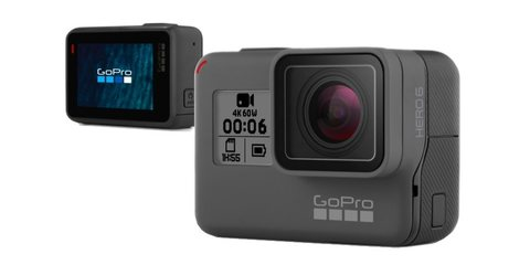 Камера GoPro HERO6 Black (CHDHX-601) дисплей