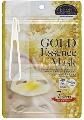 Маска с экстрактом золота GOLD Essence Mask, 7 шт.