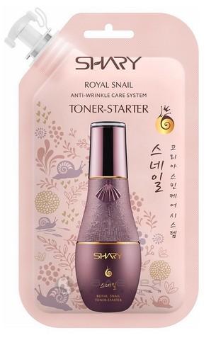 Shary Королевская улитка Тонер-стартер для лица для всех типов кожи 20 мл