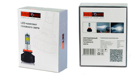 Светодиодные лампы INTERPOWER H11 CREE 30 W (белый свет)