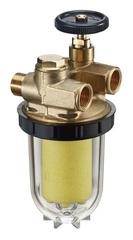 Топливный фильтр Oventrop Oilpur арт. 2120503 для 2-х тр. сист. с Filz-картриджем 3/8