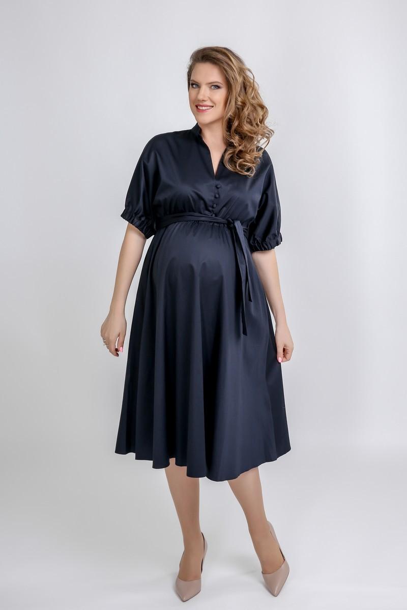 Платье 09564 синий