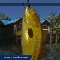 Nintendo Switch Legendary Fishing (английская версия)