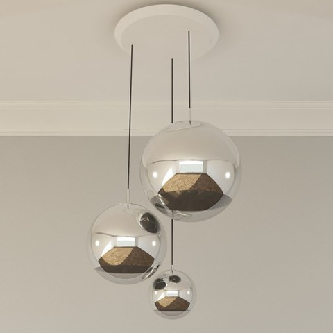 The Mirror Ball Multipoint Pendant