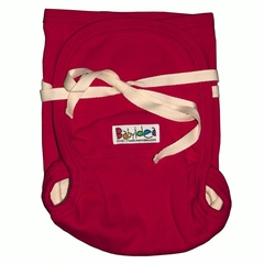 Трикотажный подгузник Babyidea Hemp Hour Strap Soft, до 3-х лет, Красный (конопля/органический хлопок ) 2шт/уп