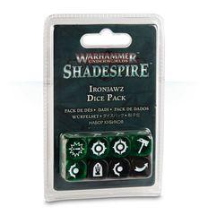 Warhammer Underworlds: Shadespire - Ironjawz Dice Pack