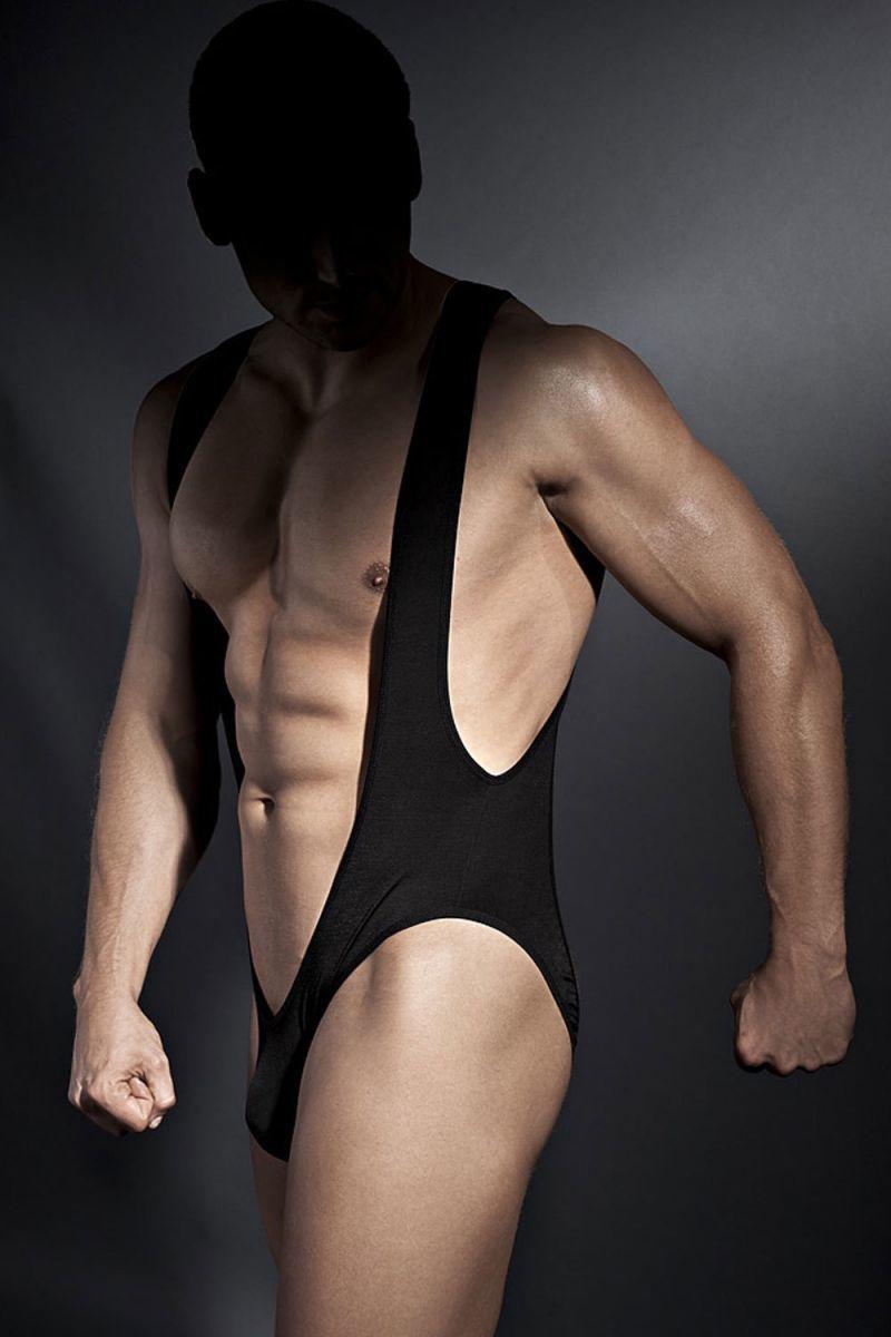 Мужское белье: Эротическое мужское боди Bryan