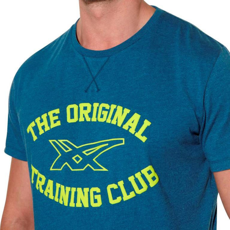 Мужская футболка асикс Graphic SS Top (125074 8125) синяя