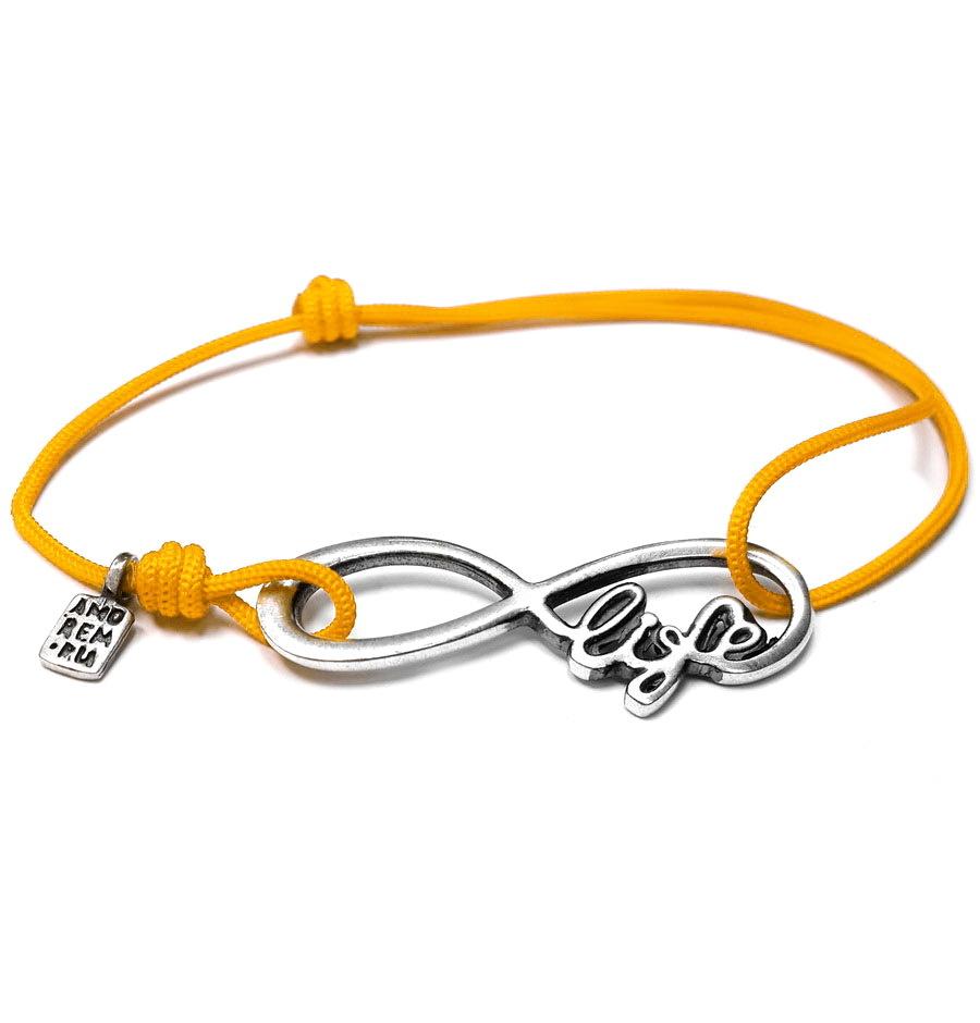 Bracelet Infinity life, Sterling Silver