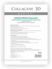 Коллагеновый аппликатор для лица и тела BioComfort EXPRESS PROTECT с софорой японской, Medical Collagene 3D