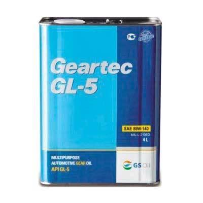 L2984440E1  Kixx GEARTEC GL-5 85W-140 трансмиссионное масло МКПП (4 Литра) купить на сайте официального дилера ht-oil.ru