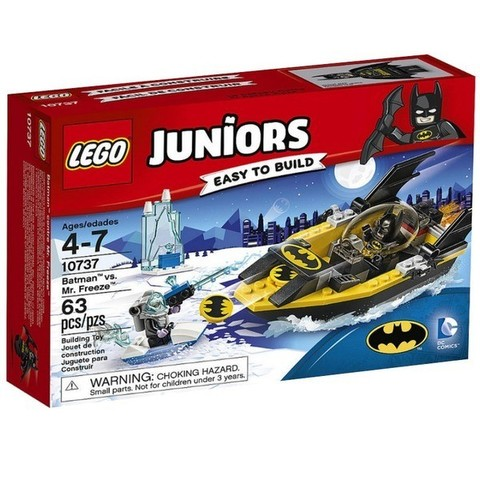 LEGO Juniors: Бэтмен против Мистера Фриза 10737 — Batman™ vs. Mr. Freeze™