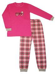 Пижама 434 розовая в клетку