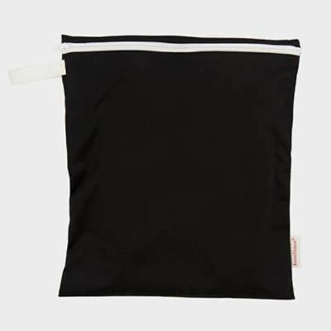 Косметичка с замком 28x26 cm, black