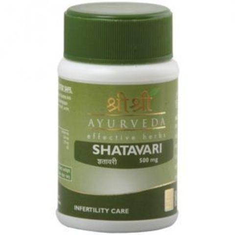 Sri Sri Ayurveda Шатавари, 60 капс