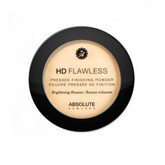 ABSOLUTE NEW YORK Прессованная пудра для лица Flawless Pressed Finishing Powder Banana