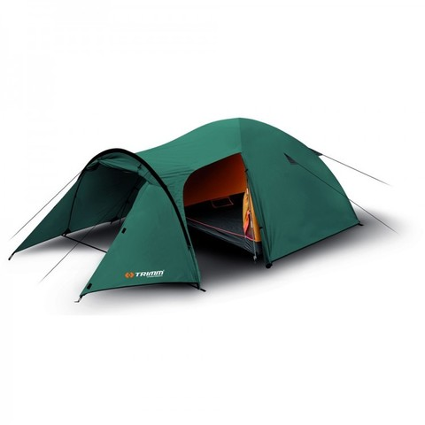 Кемпинговая палатка Trimm EAGLE, 3+1 (зеленая)