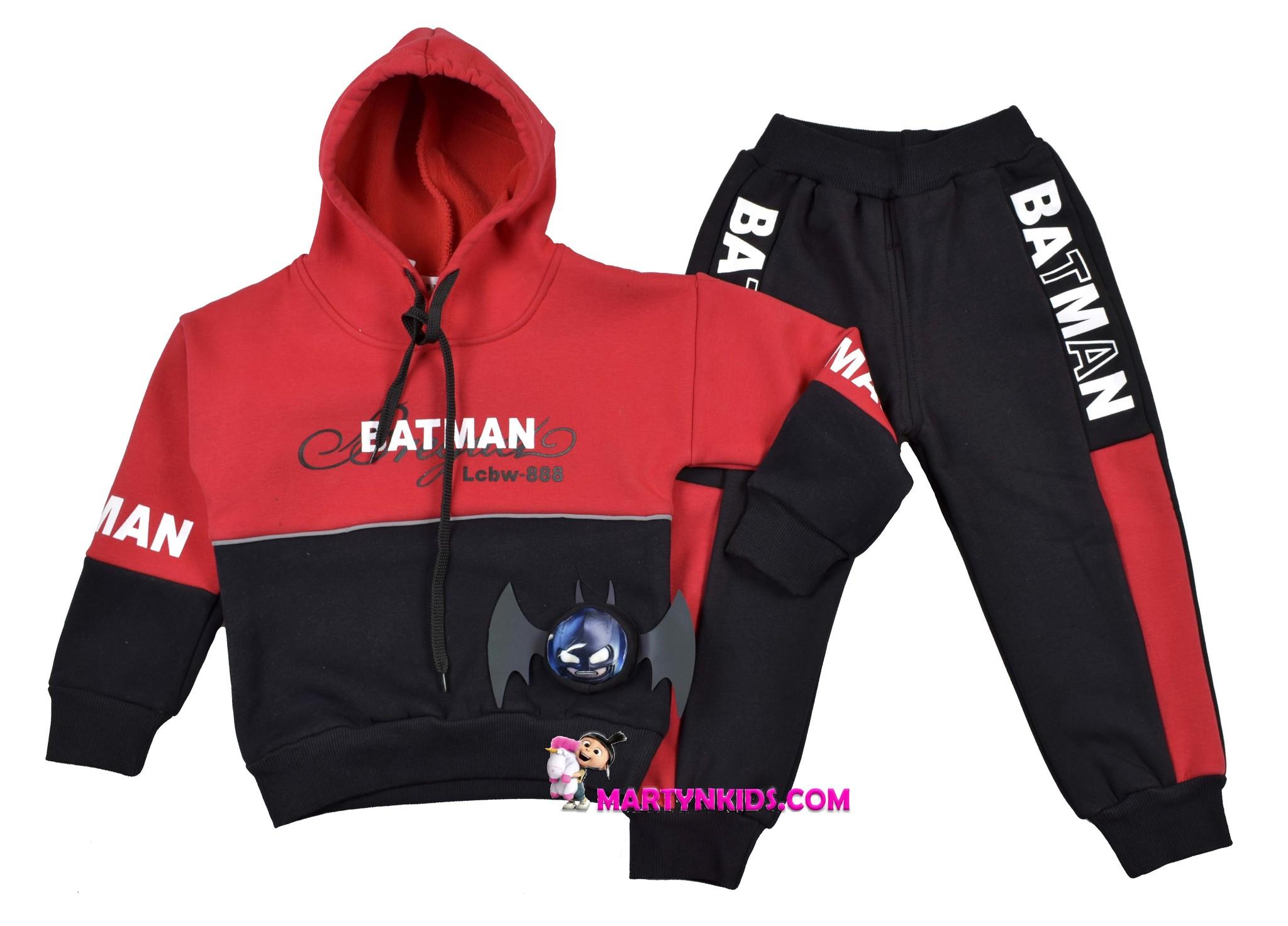 2082 костюм Бетман искусственный мех