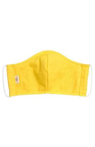 Маска тканевая (L, Желтая)