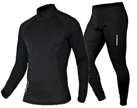 Комплект термобелья Noname Arctos Underwear Black WS 2016 с ветрозащитой