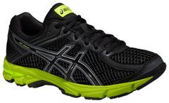 Детские кроссовки для бега Asics GT-1000 4 GS (C558N 9099) черные