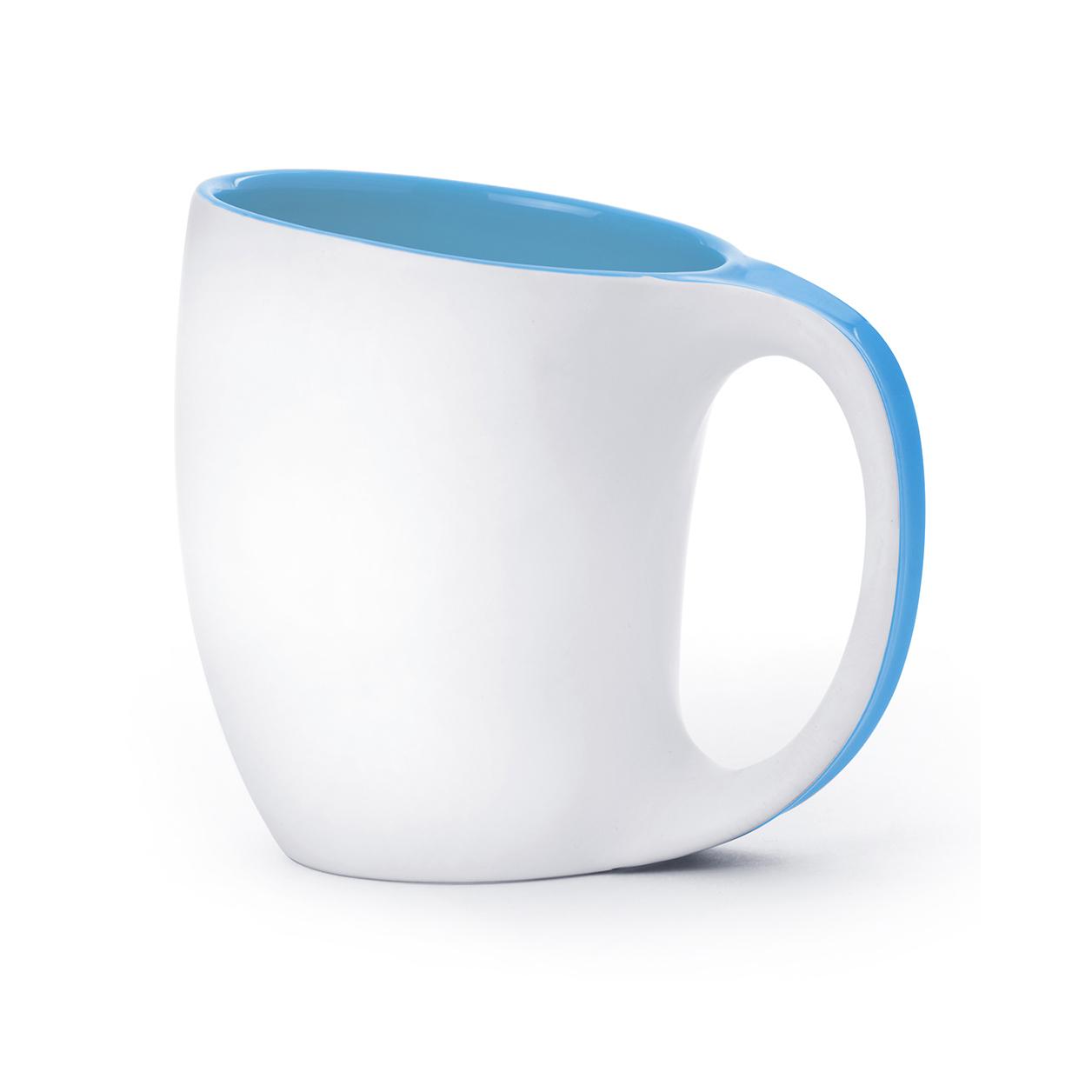 Кружка Asobu The porcelain saphire (0,4 литра) голубая